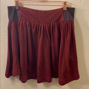 Free People flowy mini skirt